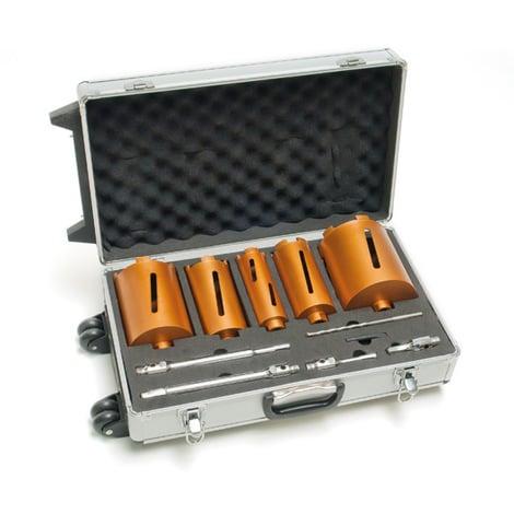 Scie cloches couronne diamanté 11 pièces avec valise de transport