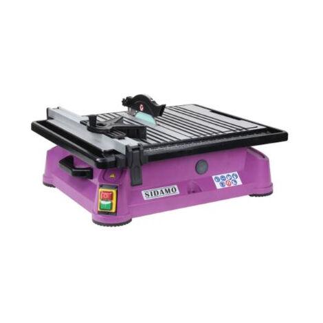 Scie de carrelage Diaminibox 180 SIDAMO - malette de transport + 2 disques diamant - 20116066
