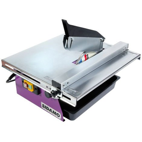Scie de carrelage SIDAMO DIAMINIBOX 180 - Ø180 mm 800W - 20116012