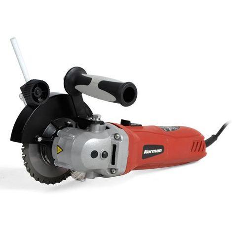 Scie double lame 950W 125 mm Multimatériaux Korman