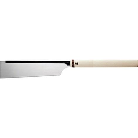Scie japonaise Dozuki, poignée bambou, longueur de lame 240 mm, Épaisseur de lame 0,3 mm