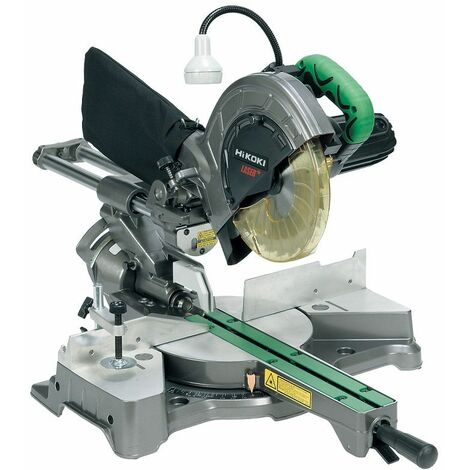 Scie onglet radiale 216 mm 1050 W laser HITACHI - C8FSHE