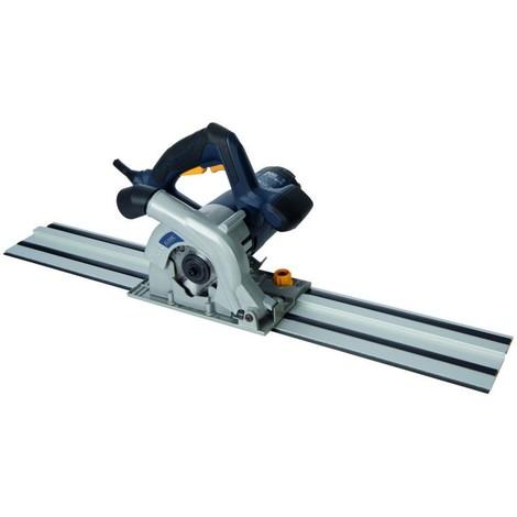 Scie plongeante compacte 110 mm, 1 050 W avec kit rail de guidage GTS1500 UK