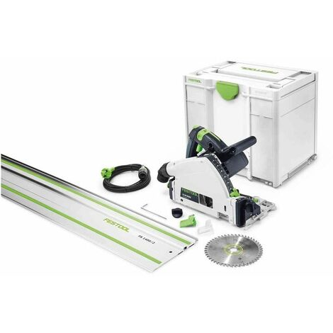 Scie plongeante Festool TS 55 REBQ-Plus-FS + rail de guidage 1400mm - 576007