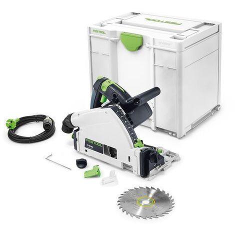 Scie plongeante FESTOOL TS55 RQ-Plus - accessoires + Systainer - 561579