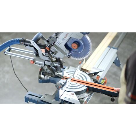 Scie radiale à onglet BOSCH GCM 8 SDE 1600W Ø216mm - 0601B19200