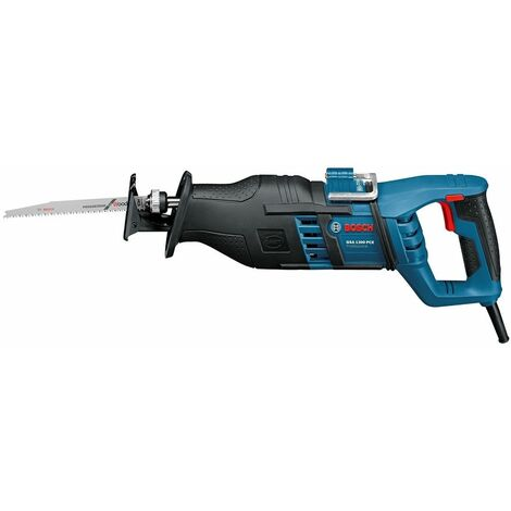 Scie sabre BOSCH GSA 1300 PCE - 1300W - Avec coffret et 2 lames - 060164E200