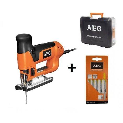 Scie sauteuse AEG Pro 705 Watts ST 800 XE + Coffret + 5 Lames OFFERTES !