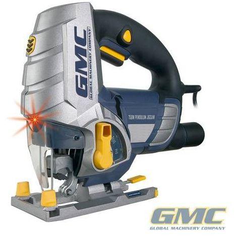 Scie sauteuse avec découpe laser GMC 100 mm LJS750CF - 750 W