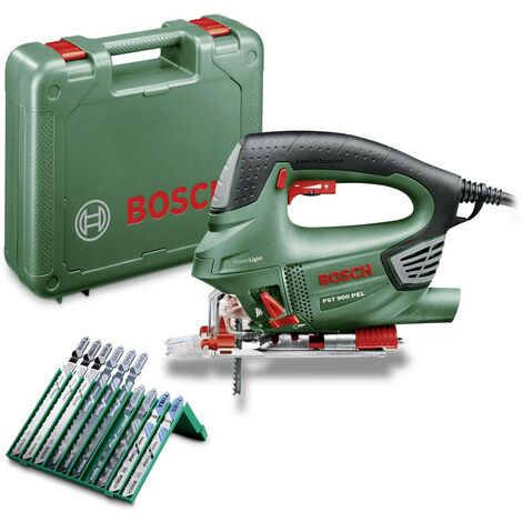 Scie sauteuse Bosch Home and Garden PST 900 PEL 06033A0201 + mallette 620 W 1 pc(s)
