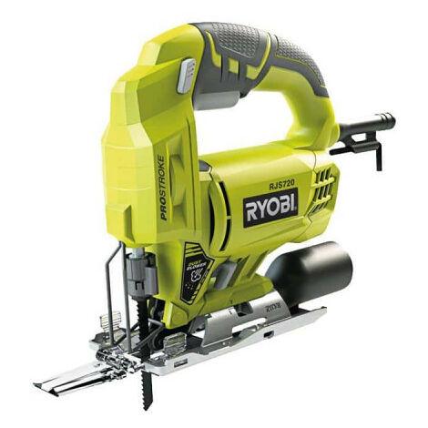Scie sauteuse électrique RYOBI 500W 72mm bois RJS720-G