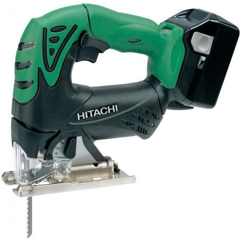 Scie sauteuse HITACHI - HIKOKI 18V Li-Ion 5.0Ah - 2 batteries, chargeur, coffret - CJ18DSL5A