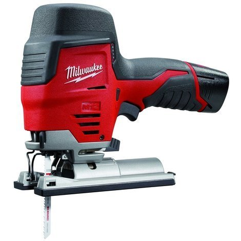 Scie sauteuse MILWAUKEE M12 JS 22B - 12V 1.5Ah + 2 batteries 1.5Ah, chargeur, sac de transport - 4933431300