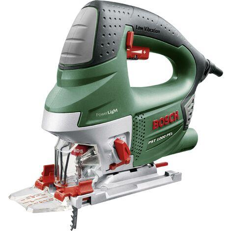 Scie sauteuse pendulaire Bosch Home and Garden PST 1000 PEL Compact 06033A0300 + accessoires, + mallette 650 W 1 pc(s) C51508