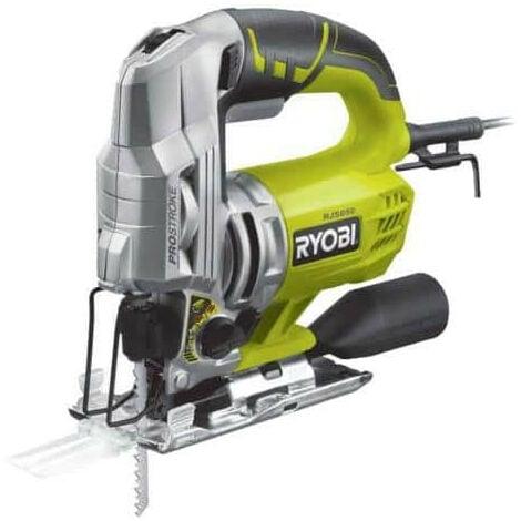 Scie sauteuse pendulaire électrique RYOBI 600W 85mm bois RJS850-K
