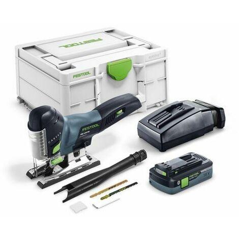 Scie sauteuse sans fil FESTOOL CARVEX PSC 420 EBI-Plus - Avec batterie 18V 4.0 Ah et chargeur - 576525