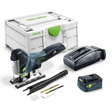 Scie sauteuse sans fil PSC 420 Li 5,2 EBI-Plus CARVEX FESTOOL 575683 - 1 batterie 5,2Ah et chargeur rapide