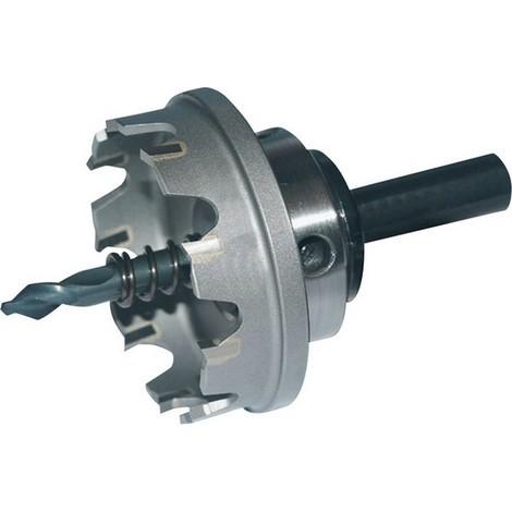 Scie trépan à mise de carbure, coupe de plats, Ø de la scie : 110 mm