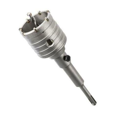 Scie trépan béton pour perforateur sds plus diamètre 30 à 150 mm 90 X 160 mm