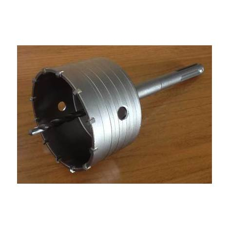 Scie trépan carbure + arbre sds max + foret de centrage existe en diamètre 30 à 150mm 40mm