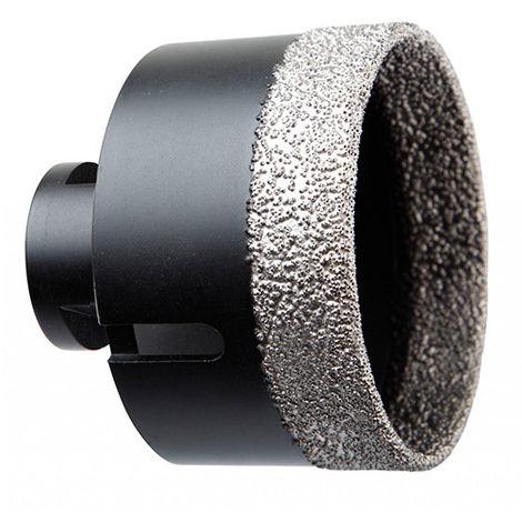 Scie trépan Diamant à sec M14 pour meuleuse D. 76 mm