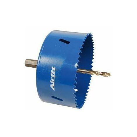 Scie trépan HSS bimétal complet, pour plastique et métal, profondeur 47 mm