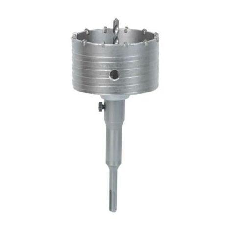 Scie trepan - scie cloche 125 mm pour pierre beton - carbure de tungstène