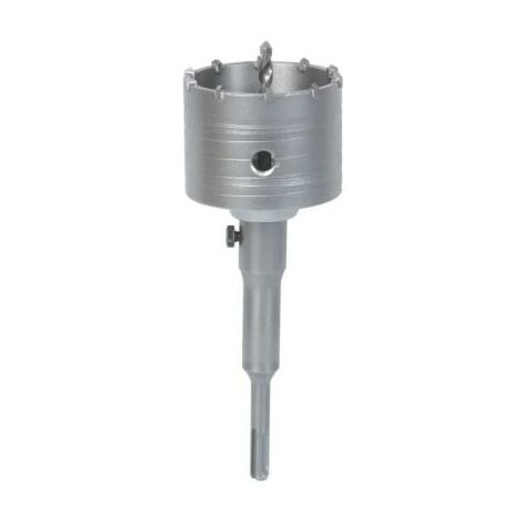 Scie trepan - scie cloche 80 mm pour pierre beton - carbure de tungstène