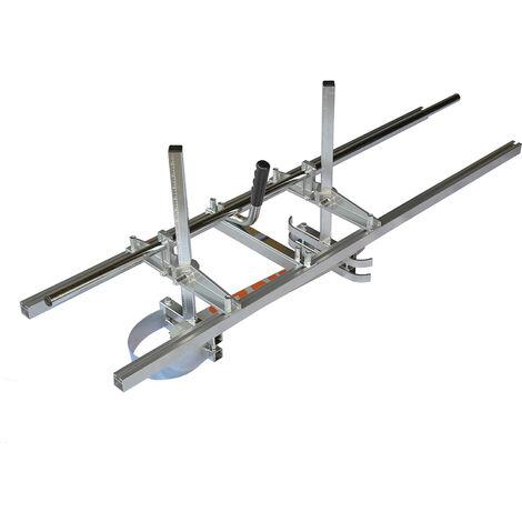 Scierie mobile gruminette pour tronçonneuse avec guide de 48 pouces