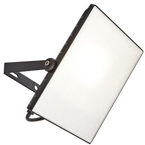 Scimitar Ip65 50W Cool White Outdoor High Power Black Spotlight Security Light