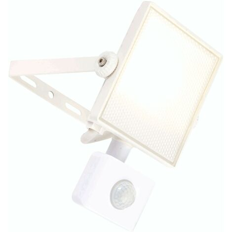 Scimitar PIR outdoor wall light Aluminum alloy 10W