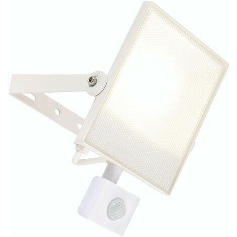 Scimitar PIR outdoor wall light Aluminum alloy LED