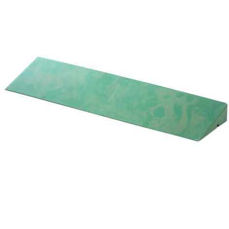 Scivolo maschio 40x10 verde listone