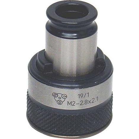 SCM Gewinde-Schnellwechseleinsatz, Größe 3, Schaft-Ø x 4-kt.18,0 x 14,5 mm, SCM