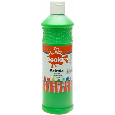 Scola AM600/37 Artmix Ready-mix Paint 600ml - Leaf Green