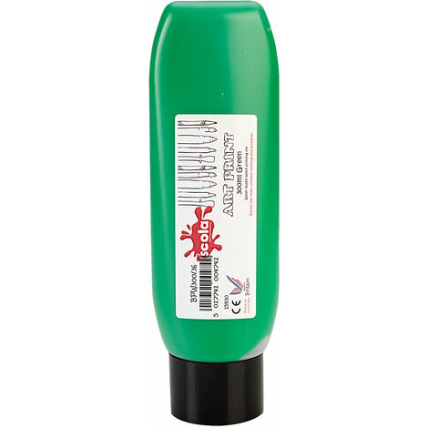 Scola BPW300/36 Block/Lino Printing Ink 300ml Solids Bright Green