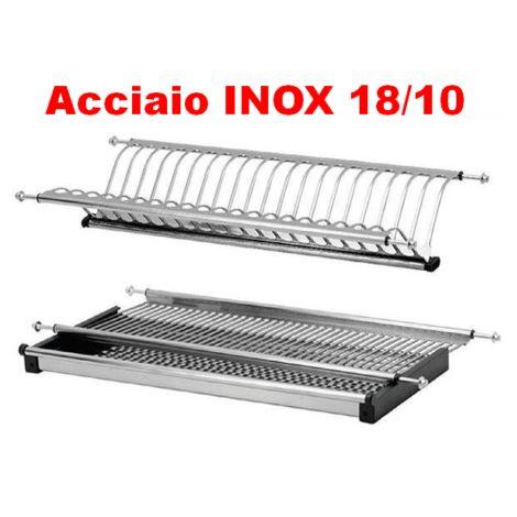 Scolapiatti inox  mobile 60 cm