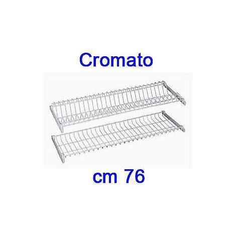 cm.86 Kit colapiatti cromato telaio regol