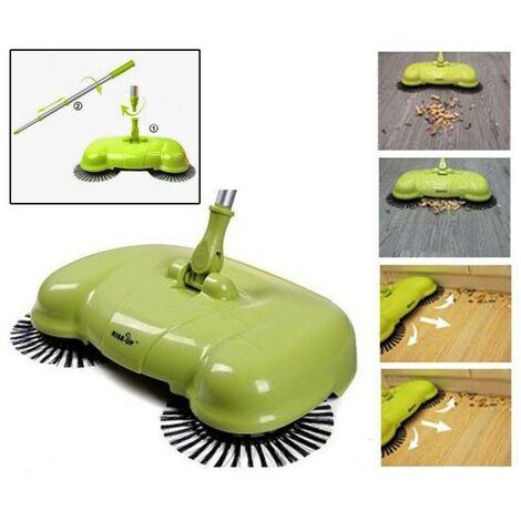 Batteria Scopa Ruotante Swivel Sweeper.Scopa Rotante Easy Aspirapolvere Pavimenti Con Setole