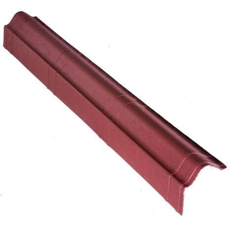 """main image of """"Scossalina laterale ONDULINE per tegola Onduvilla. Dimensioni 104 x 11 cm - Colore rosso sfumato"""""""