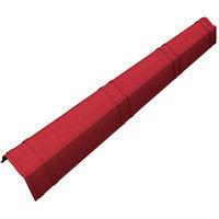 Scossalina laterale rosso sfumato impermeabile 104x11 centimetri