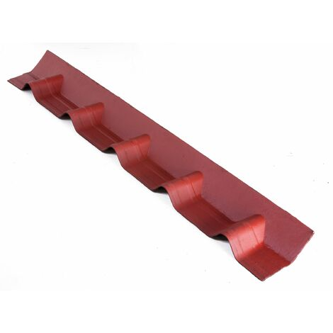 """main image of """"Scossalina universale ONDULINE per tegola Onduvilla. Dimensioni 102 x 14 cm - Colore rosso classico"""""""