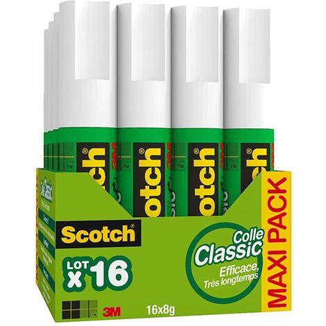 Scotch 7100150763 16 bâtons de colle 8g