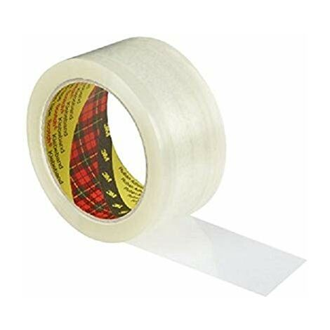 Scotch BP973 Pack de 6 Rouleaux de ruban Polypropylene classic 50 mm x 66 m Havane