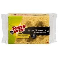SCOTCH BRITE Eponge gros travaux x1