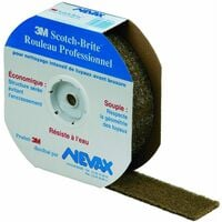 "Scotch-Brite ""fibre abrasive souple"" professionnel"