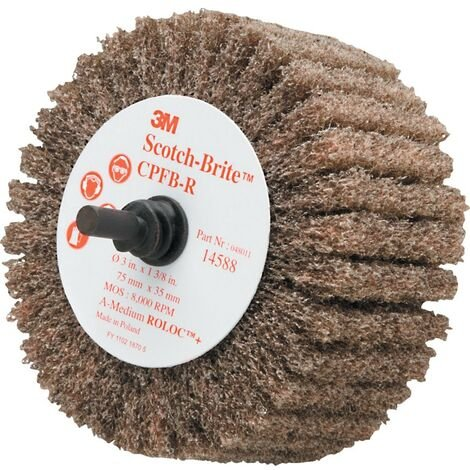 Scotch-Brite Shaft Mounted Flap Brushes