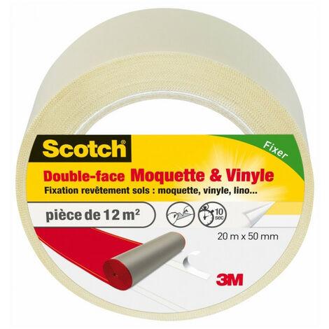 Scotch double-face sols moquette & vinyle 20mx50mm