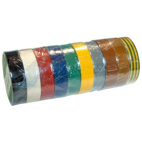 Scotch Isolant Multicolore (par 10)