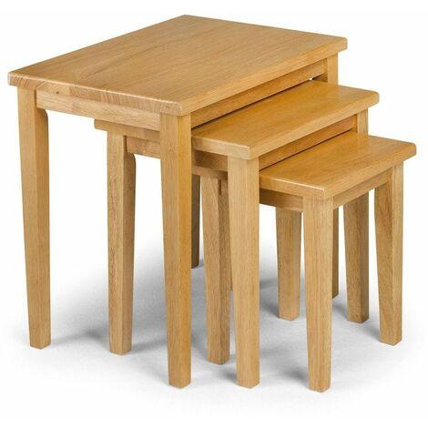 Scotch Nest Of Tables - Oak